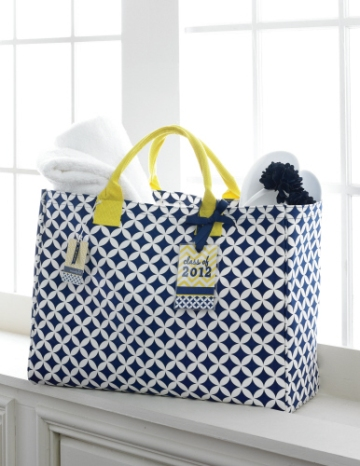 """The Graduate Essential tote"" Mud-pie"